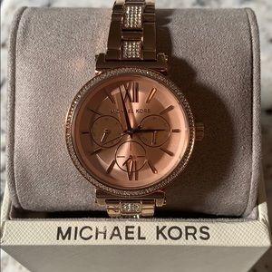 NWT Rose Gold Michael Kors Watch